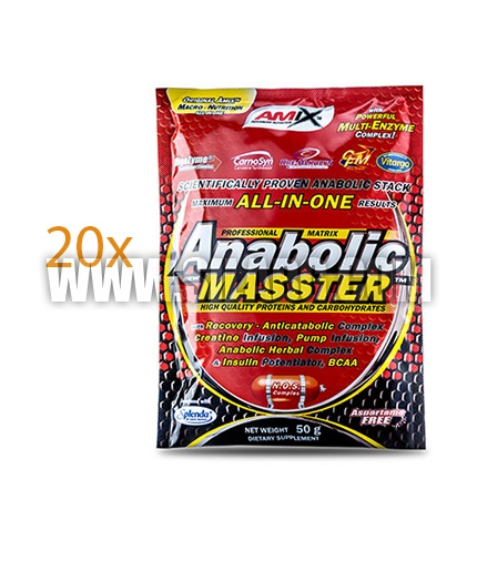AMIX Anabolic Masster ™ 20x50g. Sachets 1.000