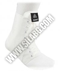 MCDAVID Laced Ankle Guard /White/
