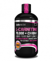 BIOTECH USA L-Carnitine + Chrome 70.000 Liquid / 500 ml.