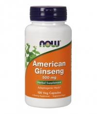 NOW American Ginseng /5% Ginsenosides/ 500mg. / 100 Caps.