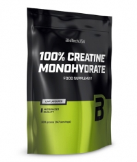 BIOTECH USA 100% Creatine Monohydrate /Bag/
