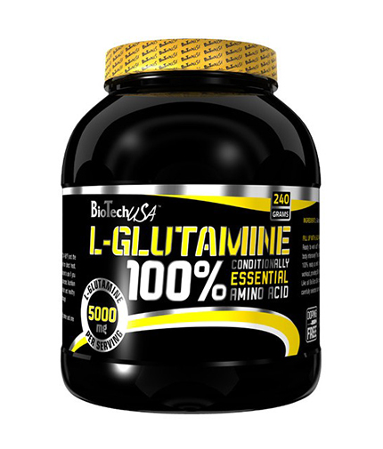 BIOTECH USA 100% L-Glutamine 0.240