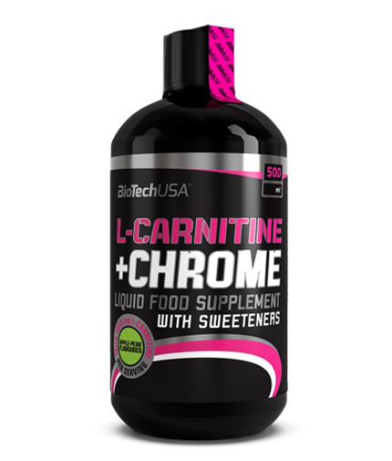 BIOTECH USA Liquid L-Carnitine + Chrome 500 ml.