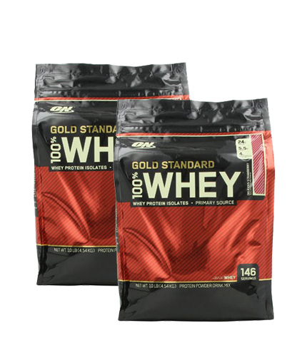 PROMO STACK ON 100% Whey Gold Standard 10lbs. / x2.