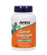 NOW Coral Calcium 1000mg. / 100 Vcaps.