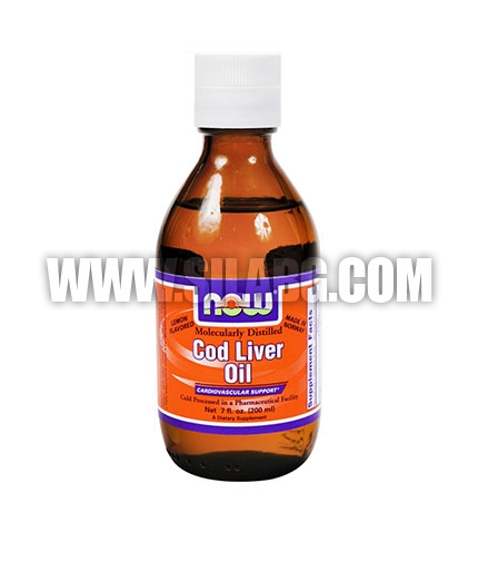 NOW Cod Liver Oil 200ml.