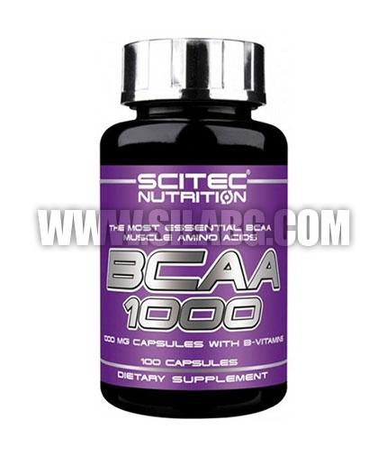 SCITEC BCAA 1000 / 100 Caps.
