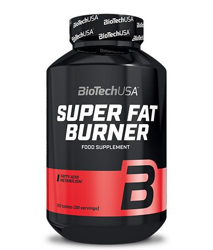 BIOTECH USA Super Fat Burner / 120 Tabs.