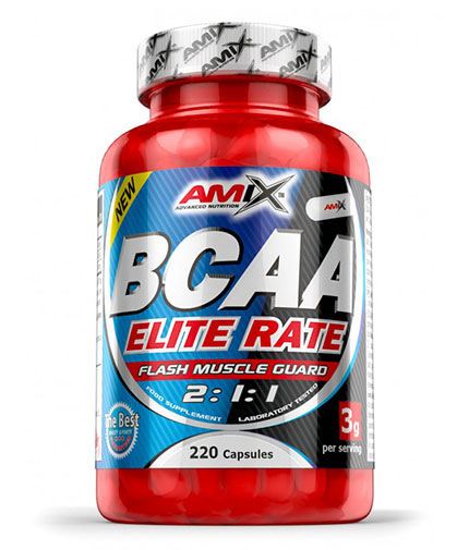 AMIX BCAA Elite Rate 220 Caps.