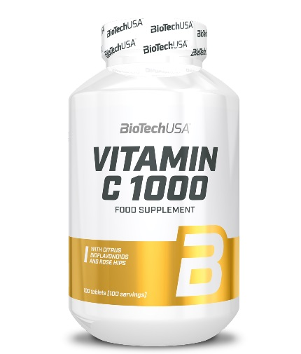 BIOTECH USA Vitamin C 1000 mg. / 100 Tabs.