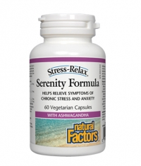 NATURAL FACTORS Stress-Relax Serenity Formula 60 Vcaps.
