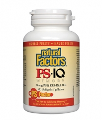 NATURAL FACTORS PS-IQ Memory 60 Softgels.