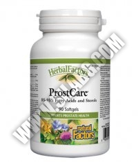 NATURAL FACTORS ProstCare 100mg. / 90 Softgels.