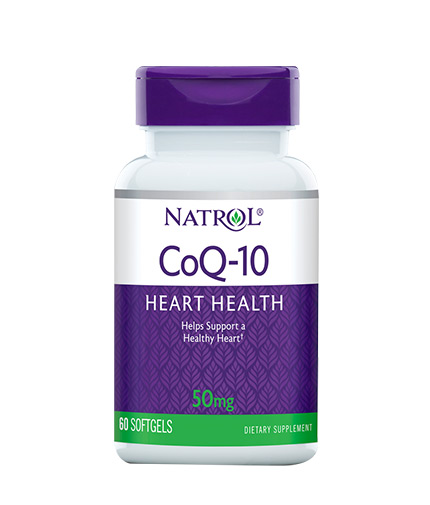 NATROL CoQ-10 / 50mg. / 60 Softgels