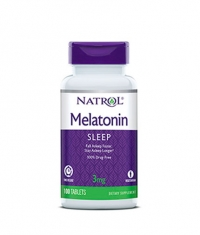 NATROL Melatonin Time Release 3mg. / 100 Tabs.