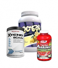 PROMO STACK Scivation Xtend Intra-Workout Catalyst! 30 Serv. + Amix Amino HYDRO-32 / 250 Tabs. + Syntrax Nectar
