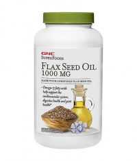 GNC Natural Brand Flax Seed Oil 1000 mg. / 180 Softgels