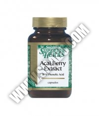 SWANSON Acai Berry Extract 500mg. / 60 Caps.