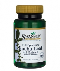 SWANSON Full Spectrum Buchu Leaf 4:1 Extract 100mg. / 60 Caps.
