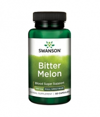 SWANSON Full-Spectrum Bitter Melon 500mg. / 60 Caps.
