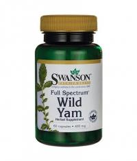 SWANSON Full Spectrum Wild Yam 400mg. / 60 Caps.