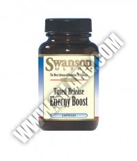 SWANSON Timed-Release Energy Boost 60 Caps.