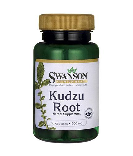 SWANSON Kudzu Root 500mg. / 60 Caps.
