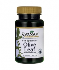 SWANSON Full Spectrum Olive Leaf 400mg. / 60 Caps.