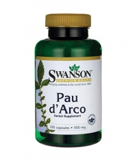 SWANSON Pau d'Arco 500mg. / 100 Caps.