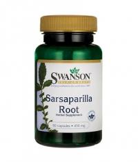 SWANSON Sarsaparilla Root 450mg. / 60 Caps.