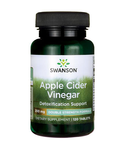 SWANSON Apple Cider Vinegar 200mg. / 120 Tabs.