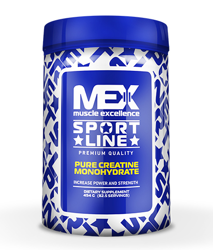 MEX Pure Creatine Monohydrate 454g.