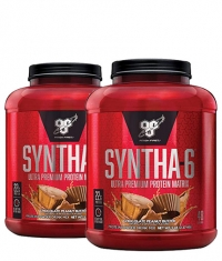 PROMO STACK BSN Syntha-6 / 5 Lbs. / x2