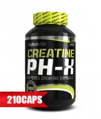 BIOTECH USA Creatine pH-X 210 Caps.