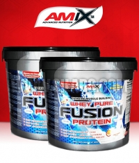 PROMO STACK Amix Whey Pure Fusion 4kg /x2