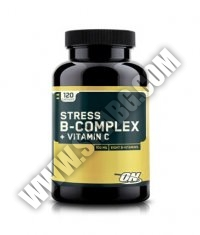 OPTIMUM NUTRITION Stress B-Complex + Vitamin C / 120 Caps.