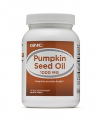 GNC Pumpkin Seed Oil 1000 / 100 Softgels.