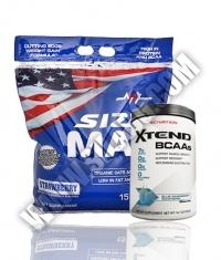 PROMO STACK MEX Size Max 15 lb. + Scivation Xtend 90 Serv.