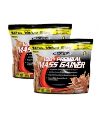 PROMO STACK MuscleTech Premium Mass Gainer 12 Lbs. / x2