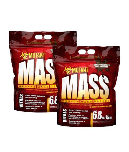 PROMO STACK Mutant Mass 15 Lbs. / x2