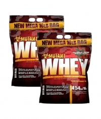 PROMO STACK Mutant Whey 10 Lbs. / x2