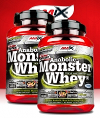 PROMO STACK Amix Anabolic Monster Whey 2.2 Lbs. / x2