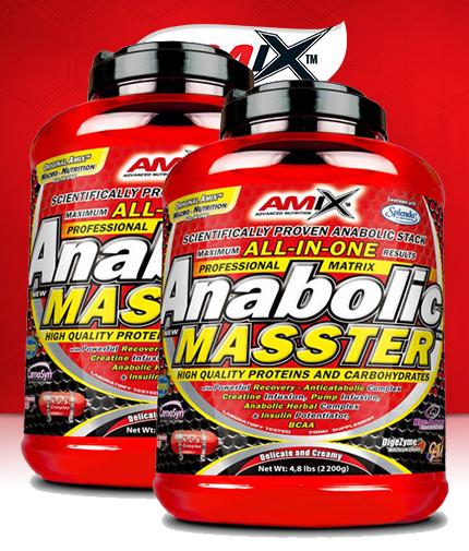 PROMO STACK Amix Anabolic Masster 5 Lbs. / x2