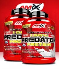 PROMO STACK Amix 100% Predator Protein 2 kg. / x2