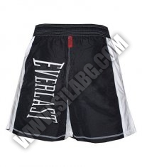 EVERLAST Mens MMA Shorts  Black / White