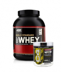 PROMO STACK ON 100% Whey Gold Standard 5 Lbs. / Cellucor C4 Extreme 30 Serv.
