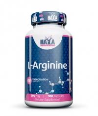 HAYA LABS L-Arginine 500mg. / 100 Caps.