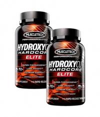 PROMO STACK MuscleTech  Hydroxycut Hardcore Elite 100 Caps. / x2