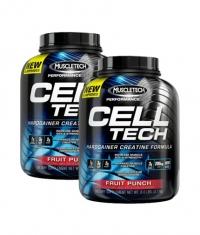 PROMO STACK MuscleTech CellTech 6 Lbs. / x2