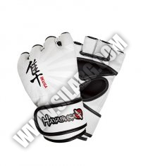 HAYABUSA FIGHTWEAR Ikusa 4oz MMA Gloves / White